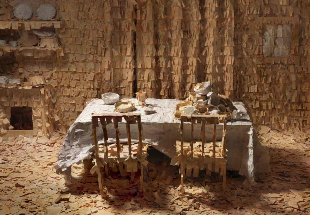 La casa del escriba (el comedor) 125 x 180 cm_ 2012 - web